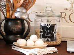 what to put in kitchen canisters chalkboard kitchen canisters hgtv
