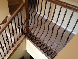 Installing Balusters And Handrails Bill Dawson Stair Rail Install Wrought Iron Balusters W Wood