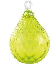 or204 glass eye studio raindrop ornaments rainforest glass eye