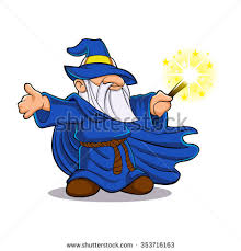 cartoon wizard stock images royalty free images vectors