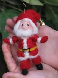 Santa Claus Christmas Decorations by Black Friday Cyber Monday Christmas Ornaments Needle Felted Santa