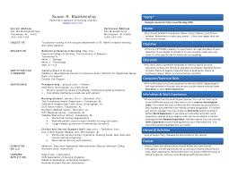 nurse resume header exles for apa fine resume objectives for a registered nurse contemporary entry