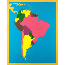 map usa jigsaw jigsaw puzzle south america south american countries and their