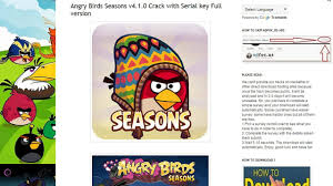 angry birds 7 games version activation key