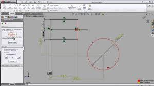 28 solidworks sketch tutorial add relation over define fix