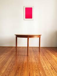 round teak dining table round danish mid century teak dining table from uldum for sale at pamono