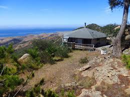 ocean view mountaintop cabin at hollister ranch hollister ranch