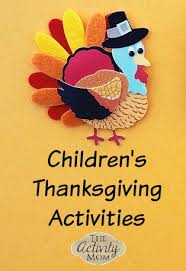 the activity children s thanksgiving activities
