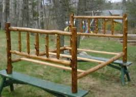 cedar log beds rustic log beds cedar log beds