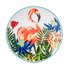 plastic 10 5in dinner plate 4 pk flamingo target