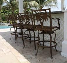 out door bar stools tall outdoor bar stools foter