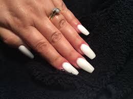 white acrylic nails nailsjamiebe youtube
