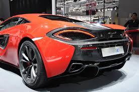 orange mclaren price motor show 2015 mclaren 540c