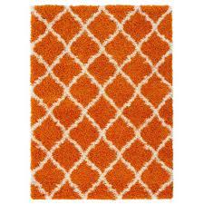 cozy2271 cozy shag contemporary moroccan trellis design soft