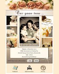 electronic wedding invitations e invitations wedding rectangle flower pattern photo