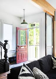 Mid Century Window Trim Houzz Tour Black Cabinets Trim And Doors Wow In This Victorian