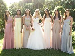 different wedding dresses coolingerie how to make a work of mismatched bridesmaid