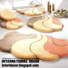 designer bathroom rugs modern bath mat eatatjacknjills