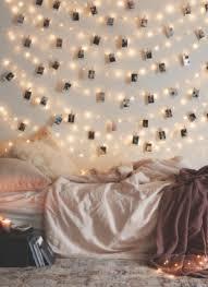 guirlande lumineuse d馗o chambre des guirlandes lumineuses pour le mur de la chambre inside
