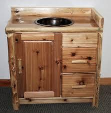 Log Vanity Log Vanities U2014 Barn Wood Furniture Rustic Barnwood And Log