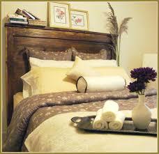 Headboard Designs Wood Bedroom Open Book Shelves As Headboard Idea In Rustic Bedroom
