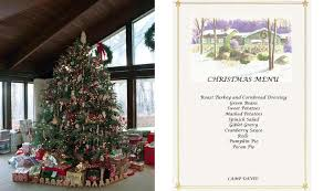 a camp david christmas at the presidential retreat