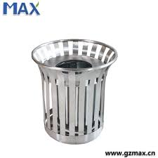 public decorative stainless steel dustbin garbage basket buy