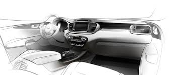 Kia Sorento 2015 Interior 2015 Kia Sorento Interior Teased The News Wheel