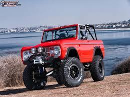 baja bronco 1996 ford bronco fuel trophy d551 wheels matte black w anthracite ring