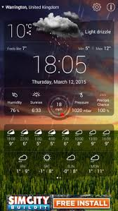 best android weather widget the best weather widget in the world for android