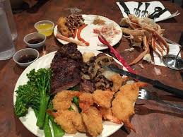 Buffet With Crab Legs by Grilled Steak Crab Legs And Breaded Shrimp For Dinner Buffet