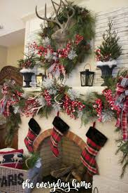 Christmas Tree Decorating Ideas Southern by 323 Best Christmas Mantels Images On Pinterest Christmas Mantels