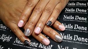 gel manicure nails done right
