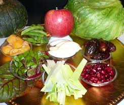 rosh hashanah seder plate appetit say it with food symbolic foods and seder enrich