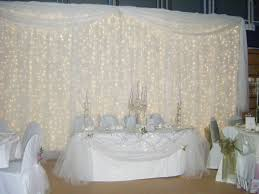 wedding backdrop curtains wedding drapery with lights curtain lights wedding lighting