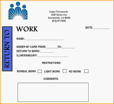sample doctors note doctors note for work pdf sample doctors note template for work