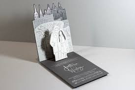 pop up wedding invitations in central park a pop up wedding invitation design how design