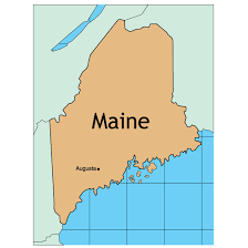 map of maine vector map of maine at vectorportal