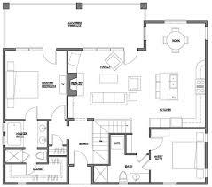 floor plans for sloped lots baby nursery sloped land house plans floor plan narrow land
