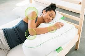 best pillow for watching tv in bed sleep yoga better posture better sleep pillow