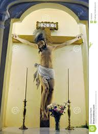 jesus christ on a cross stock image image 14294201