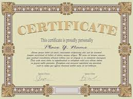 100 template stock certificate certificate of participation