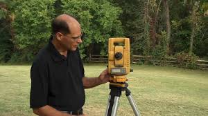 setting up a total station youtube