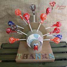 juneberry diy lollipop turkeys