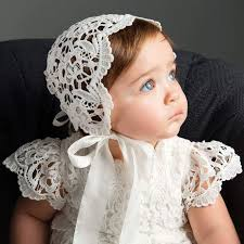 lace headwear christening bonnets christeninggowns