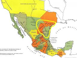 Mexico State Map by