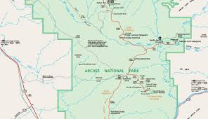 Yosemite Park Map Official Arches National Park Map Pdf My Utah Parks