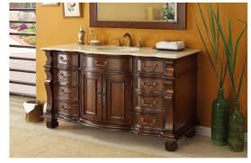 Antique Bathroom Vanities by Awesome Antique Bathroom Vanities Without Tops Using Dark Wood