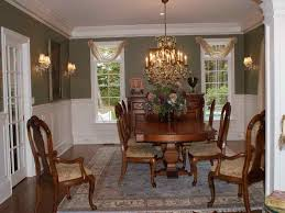 plain fresh dining room window treatments dining room window