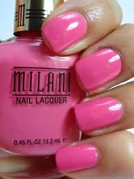 milani nail lacquer in power periwinkle gold label line nail